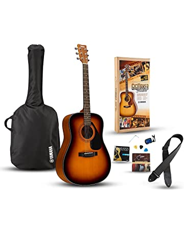 Yamaha Gigmaker Standard Acoustic Guitar w/ Gig Bag, Tuner, Instructional DVD, Strap