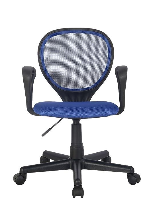 Silla de Oficina Silla giratoria Azul//Negra H-2408F//2059 SixBros