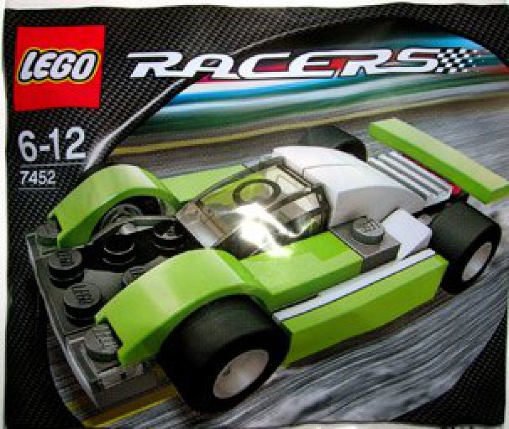 Amazon.com: LEGO Racers: Le Mans Sports Car (Green) Set 7452 (Bagged): Toys  & Games