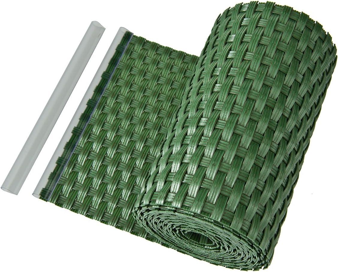 Bandes D Occultation En Polyethylene Pour Cloture Balcon Vertes