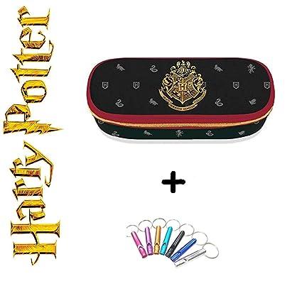 Estuche Harry Potter ovalado con cremallera + llavero ...