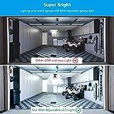 Garage Lights,60W Deformable Led Ceiling