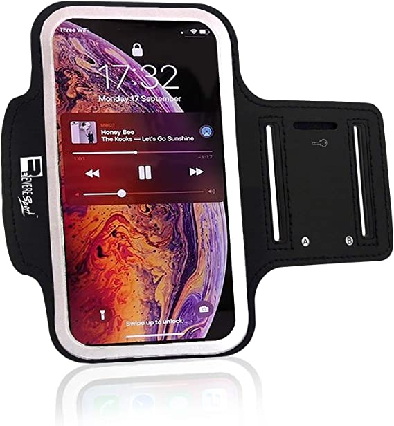 Running Sports Workout Armband Exercise Phone Case Cover Vodafone Smart Turbo 7