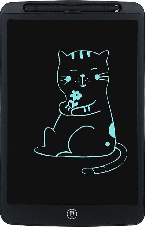 Tableta Gr/áfica Color LCD 12 Pulgadas Tableta de Escritura Port/átil Tableta de Dibujo Tablero de Dibujo Gr/áfico