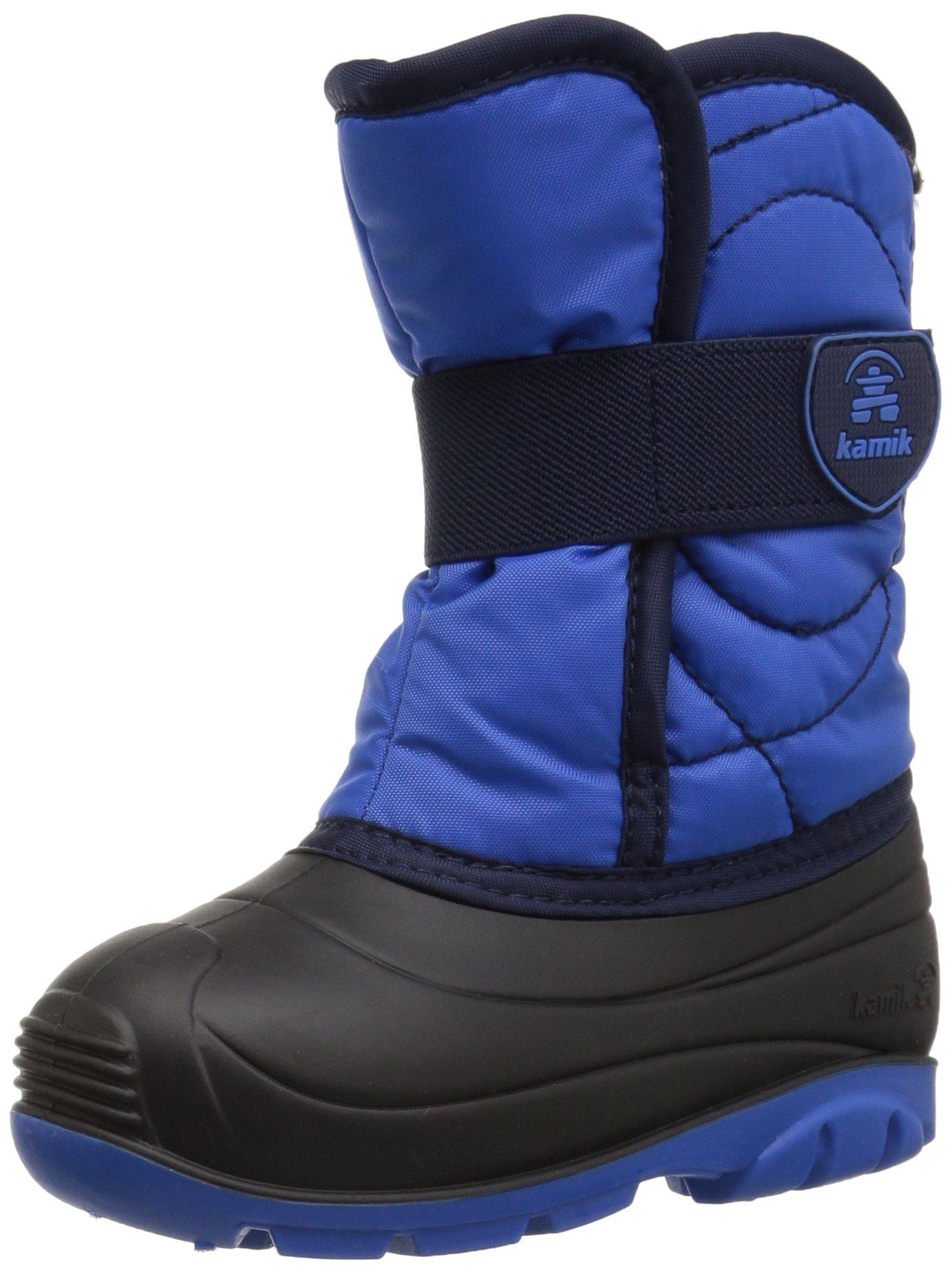 Kamik Boys' SNOWBUG3 Snow Boot, Strong Blue, 9