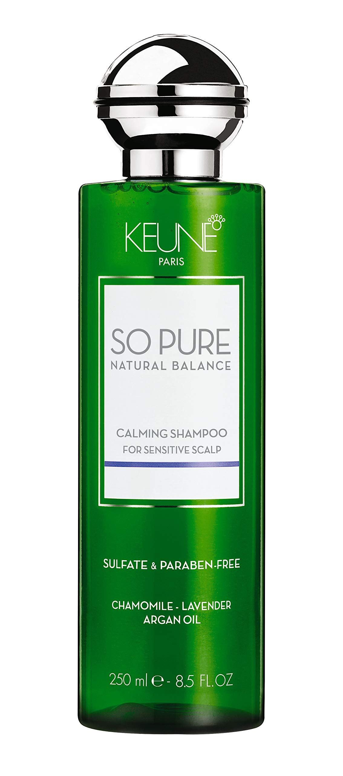 KEUNE So Pure Calming Shampoo, 8.5 Fl oz