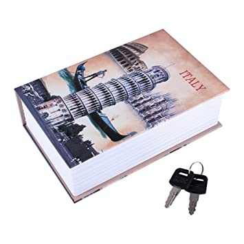 W/örterbuch Buch Hidden Diversion Book Safe mit Kombination LOVE Style Security Box