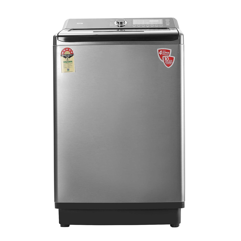 IFB 10.5 kg Fully-Automatic Top Loading Washing Machine (TL SDIN 10.5 KG, Grey)