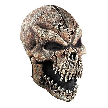 NET TOYS Máscara Calavera Hombre Lobo | Careta Halloween | Antifaz Monstruo | Mascarilla Terrorífica: Amazon.es: Juguetes y juegos