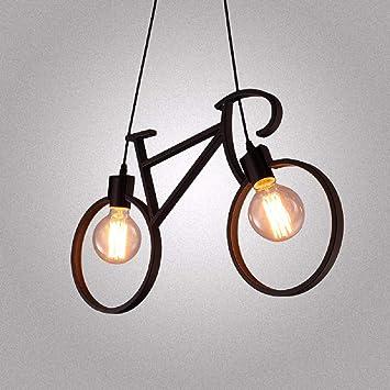 NUYAN Droplight Lámpara de Techo para Bicicletas, lámpara de ...