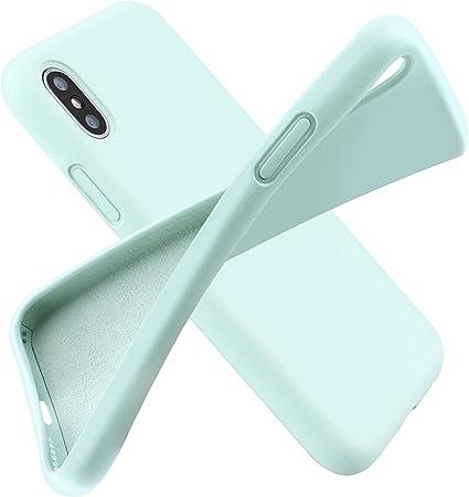 Custodia iPhone X, [Funziona la ricarica wireless] Arrinew Ultra Sottile, 360 Gradi Full Body Custodia in Ultra Slim Hard Case Ultra Sottile Custodia ...