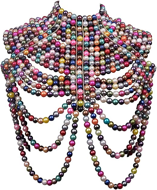 Statement ankara boho necklaces. Handmade bohemian ankara necklace mono-color necklace Jewelry Woman gift exotic ankara neck pieces