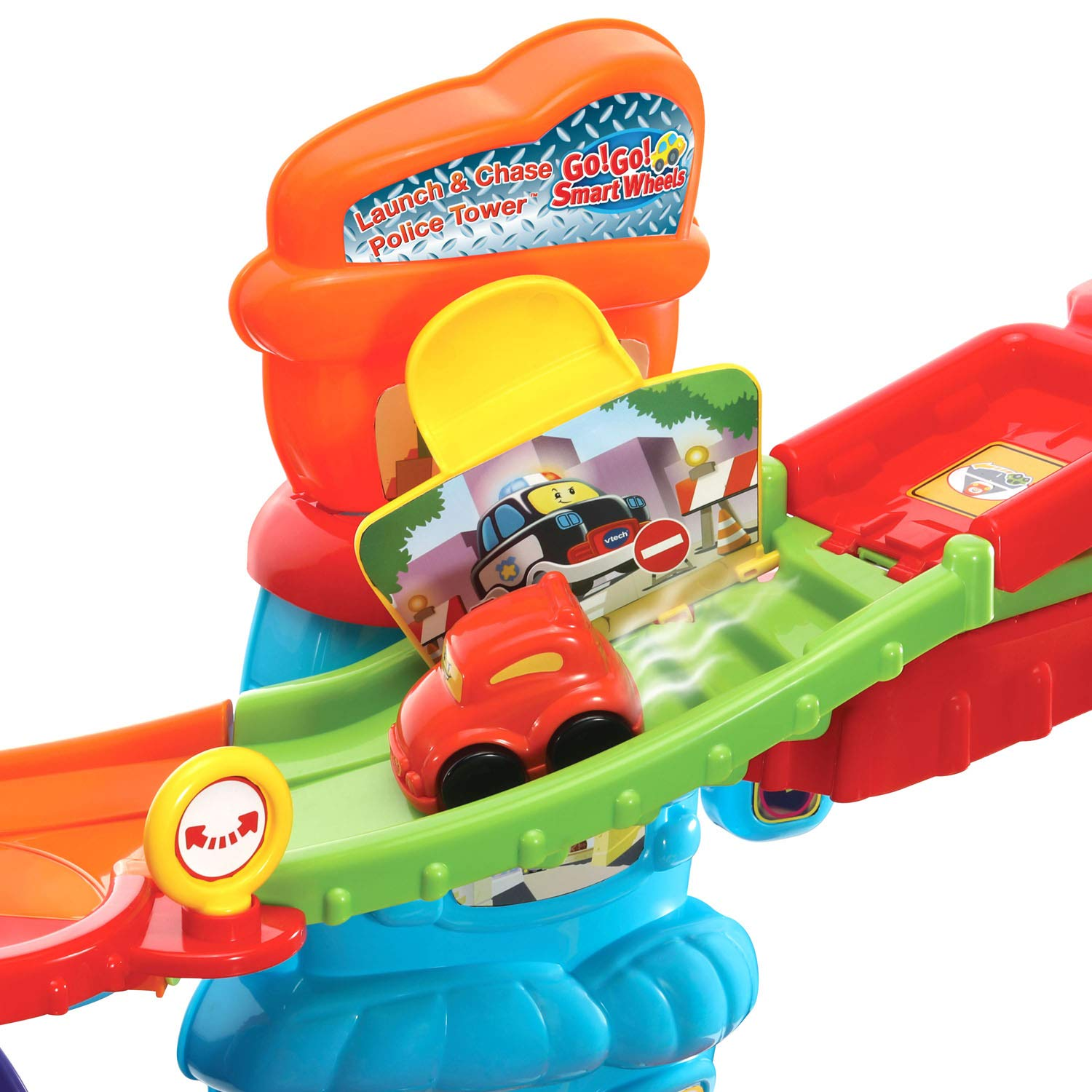 VTech Go! Go! Smart Wheels Launch and Chase Police Tower by VTech (Image #9)