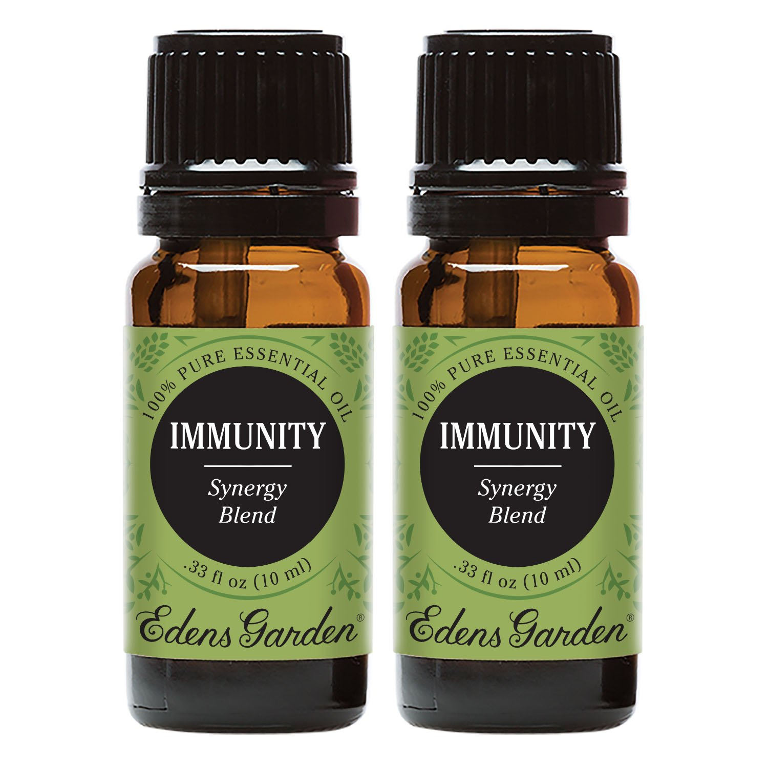 Edens Garden Immunity Essential Oil Synergy Blend, 100% Pure Therapeutic Grade (Highest Quality Aromatherapy Oils- Allergies & Cold Flu), 10 ml Value Pack by Edens Garden