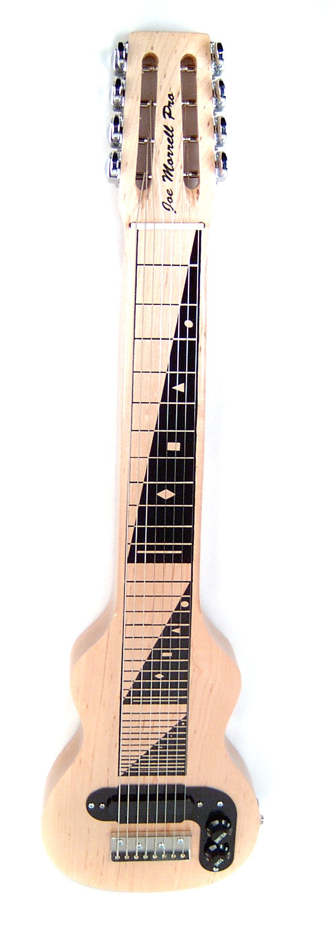 Morrell Joe Morrell Pro Series Maple Body 8-String Lap Steel Guitar - Natural Finish USA