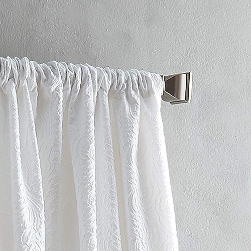 DKNY Cloud Back Tab Lined Window Curtain Panel Pair