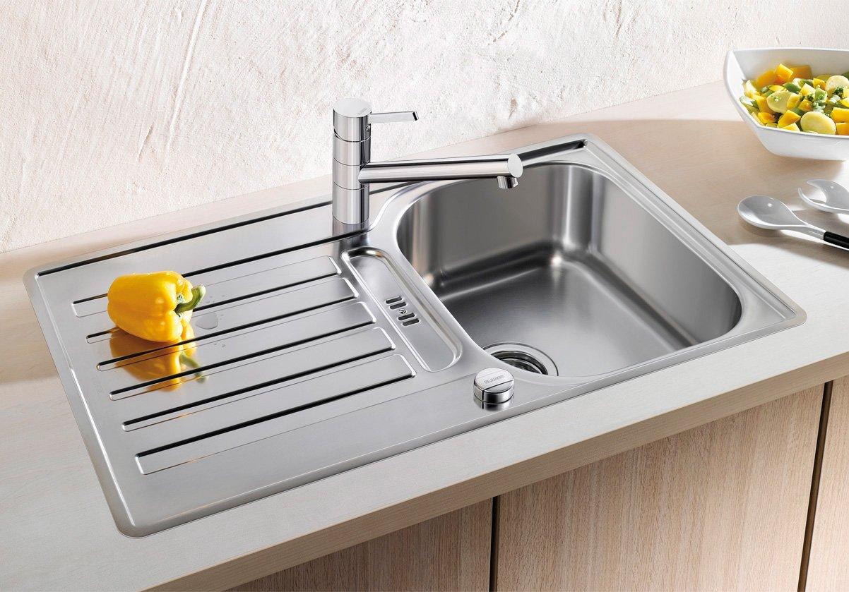 Blanco Lantos 45 S-IF, Küchenspüle, für normalen und flächenbündigen ...
