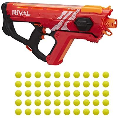 Perses Mxix-5000 Nerf Rival Motorized Blaster (Red) -- Fastest Blasting Rival System: Toys & Games