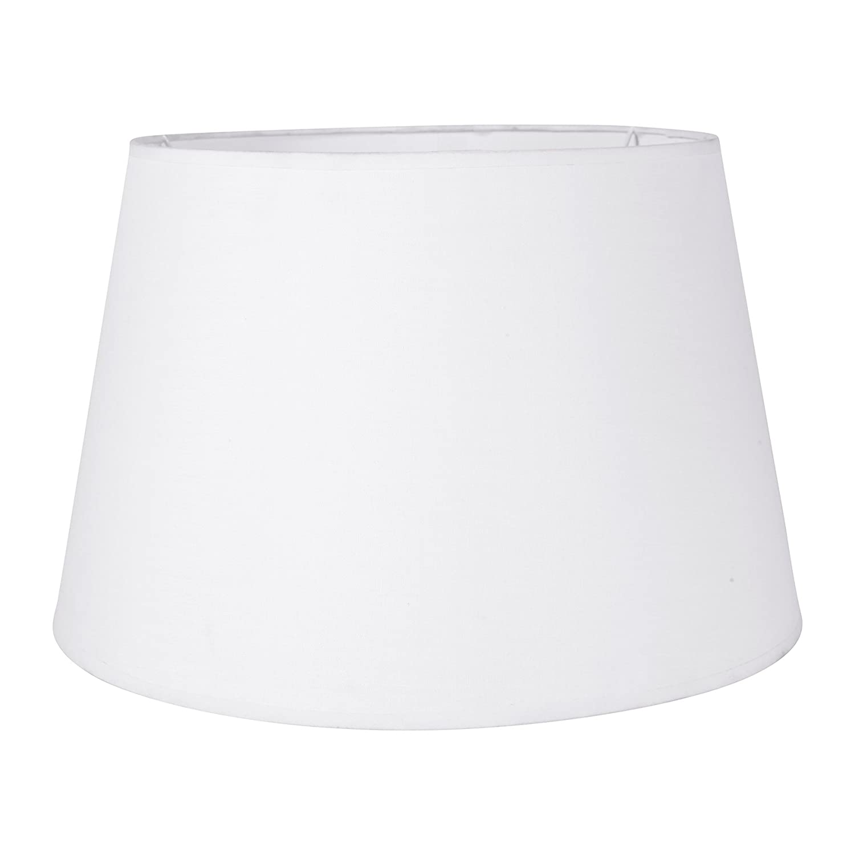 Sema 97219 Abat-jour rond Texture/Tissu Blanc Sema Design