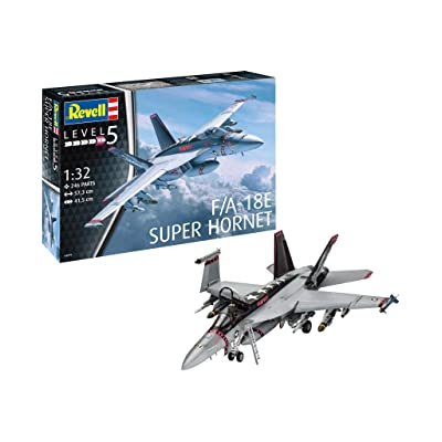 Revell of Germany 04994 1/32 F/A-18E Super Hornet, (Model: 04994 F/A-18E): Toys & Games