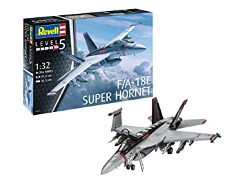 Revell Maqueta de avión 1: 32 - F/A-18E Super Hornet (Escala ...