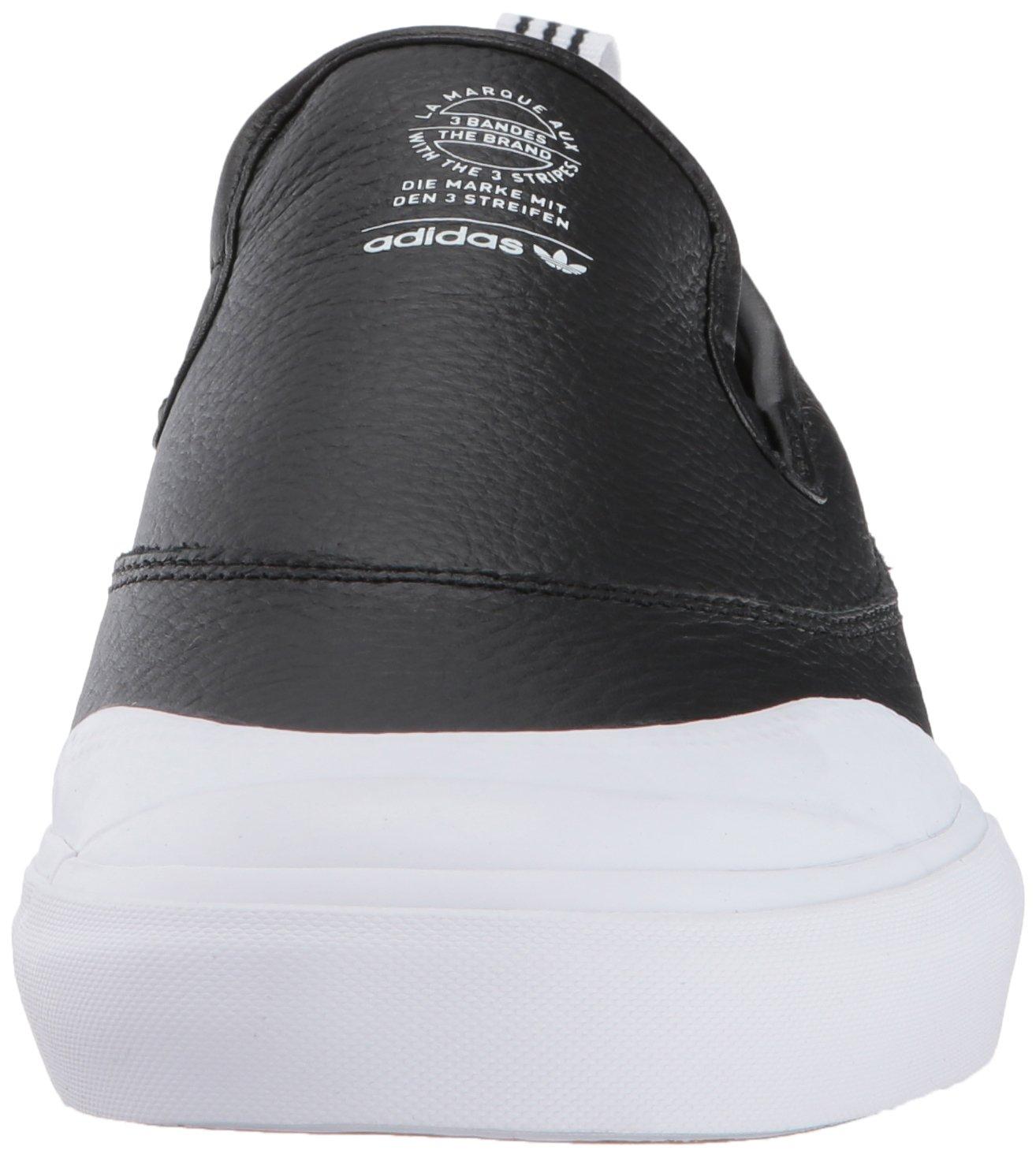 new styles 9f7e8 e0b1f Zapatillas de skate adidas Originals para hombre Matchcourt Slip Negro    Negro   Blanco