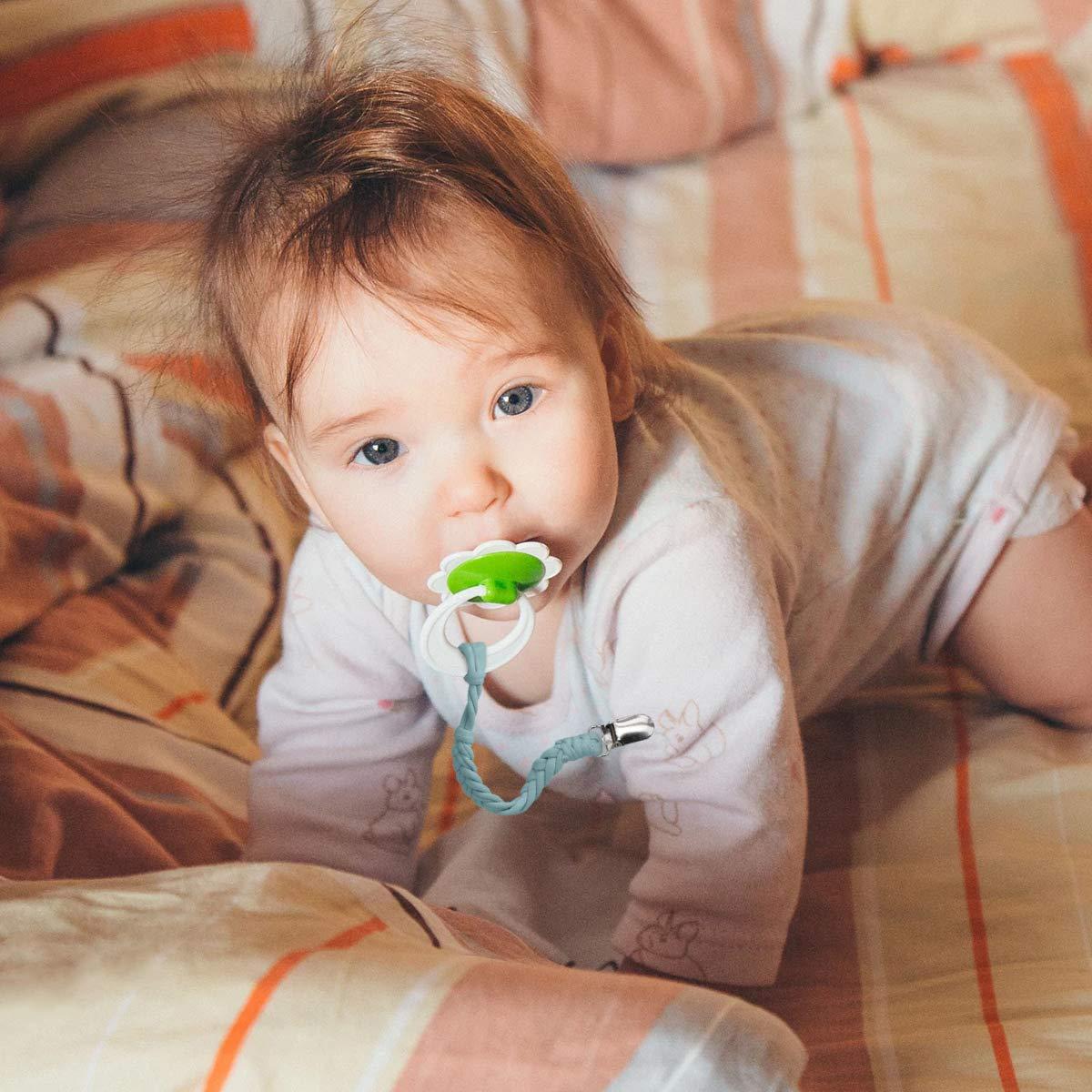 Amazon.com: Soporte para chupete de bebé para niños y niñas ...
