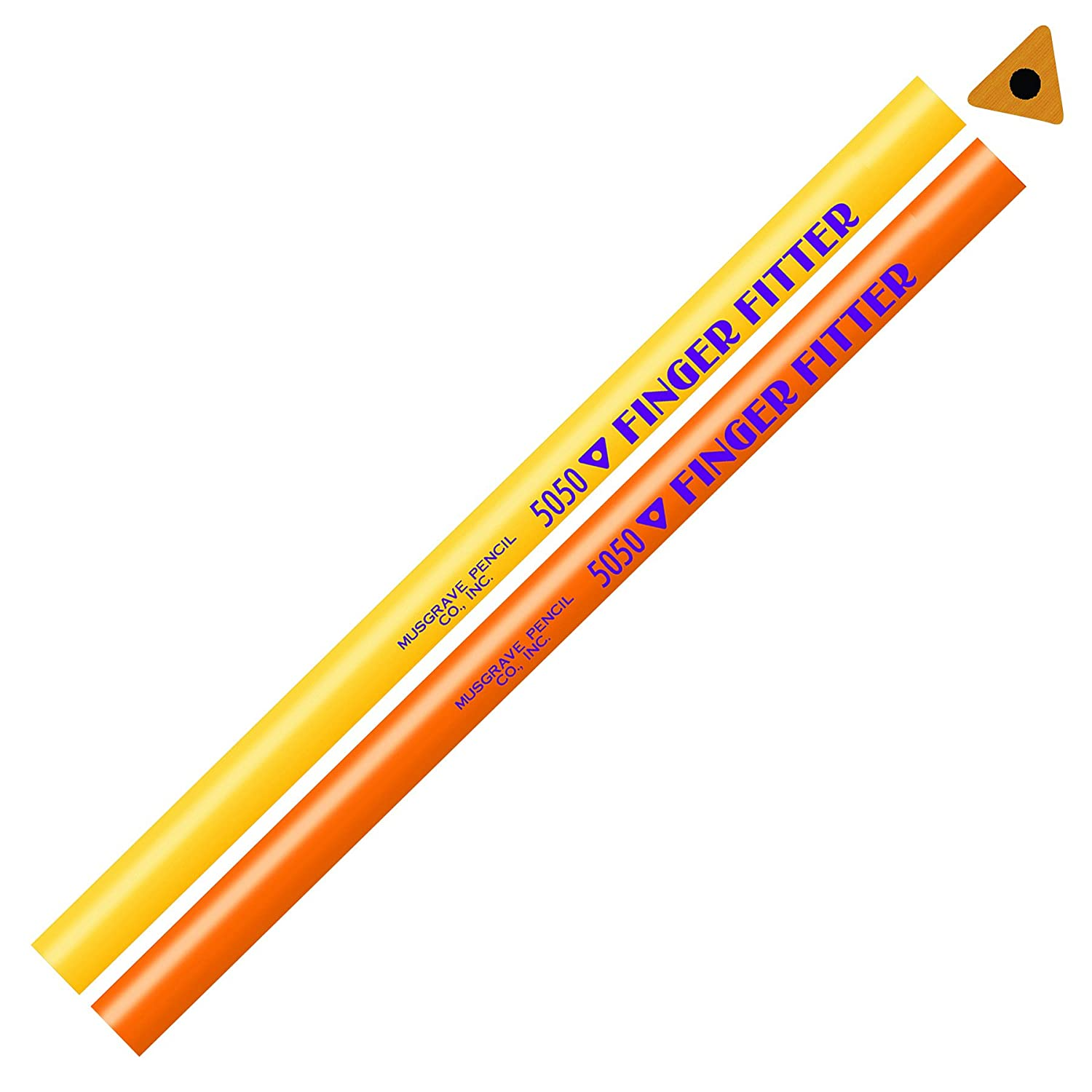 Musgrave Pencil Co MUS5050 Finger Fitter No Eraser Art and Craft Pencil MUSGRAVE PENCIL CO INC