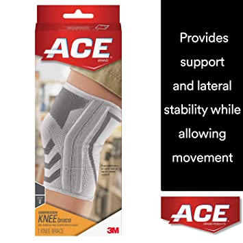 0696555d70 ACE Knitted Knee Brace with Side Stabilizers, Extra Large, America's Most  Trusted Brand of