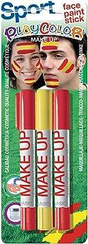 PlayColor 01046 5 g Basic Maquillaje Bolsillo Deporte España Cara Pintura Stick: Amazon.es: Juguetes y juegos