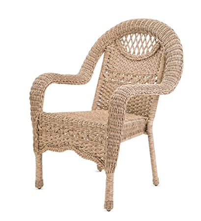 Swell Prospect Hill Wicker Chair Driftwood Gmtry Best Dining Table And Chair Ideas Images Gmtryco