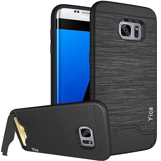 11 opinioni per Custodia Samsung Galaxy S7, Copertura Protettiva della Cassa Yica Slim Fit Dual