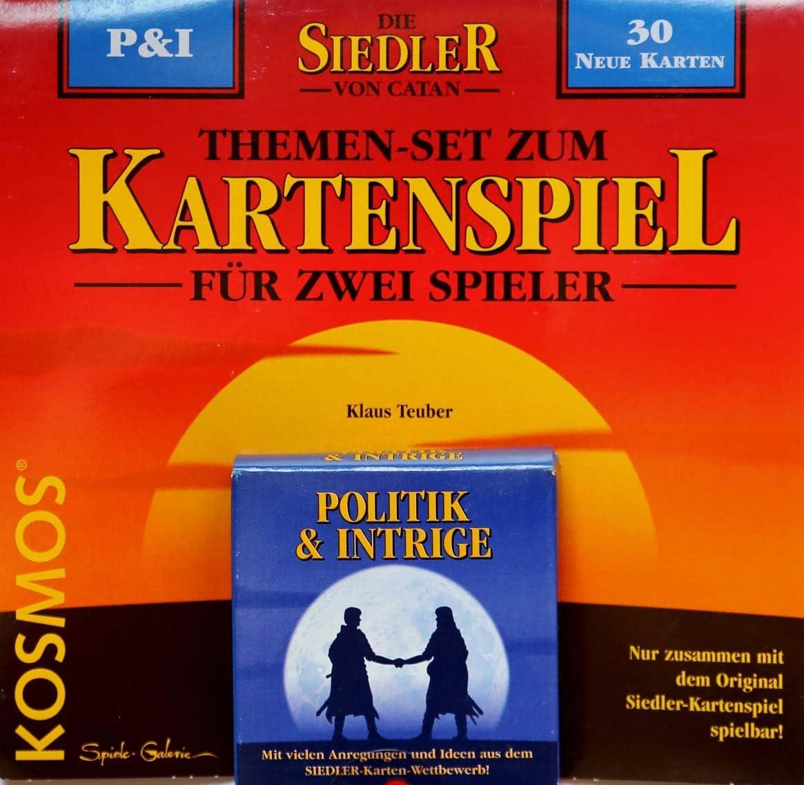 Kosmos - Expansión Política e Intriga para el juego Los colonos de Catán (en alemán): Amazon.es: Juguetes y juegos