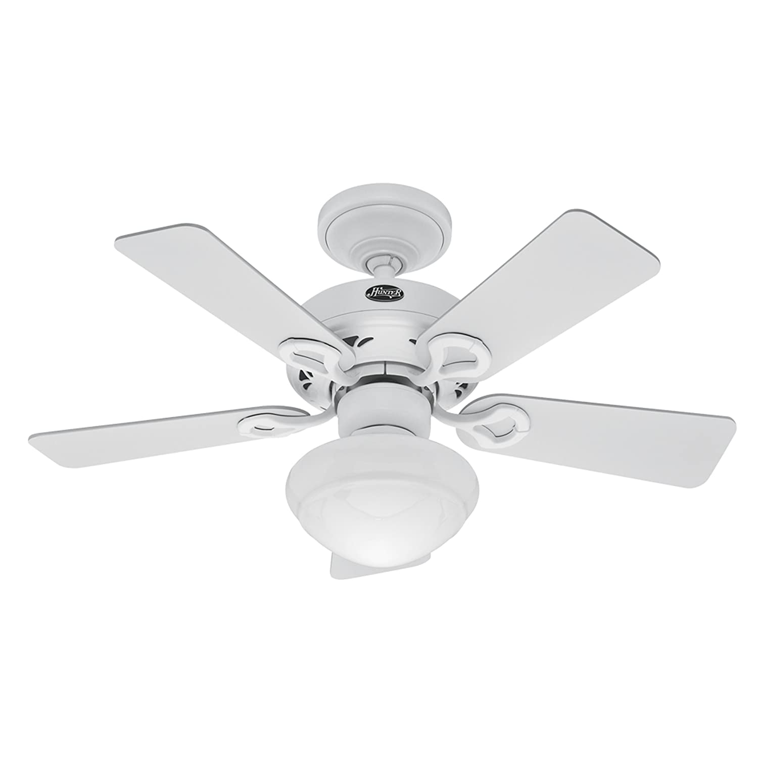 Hunter Bainbridge 36 Inch 5 Blade Ceiling Fan with Optional
