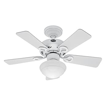 Hunter 20422 bainbridge 36 inch 5 blade ceiling fan with optional hunter 20422 bainbridge 36 inch 5 blade ceiling fan with optional light fixture mozeypictures Images