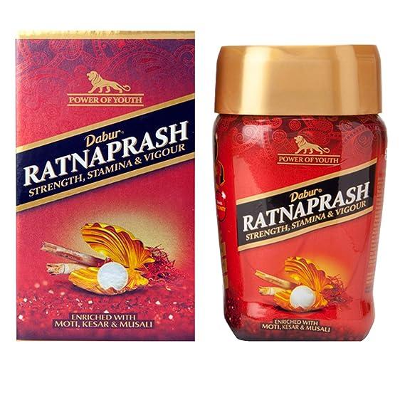 Dabur Ratnaprash - Chyawanprash for all Seasons, A Complete Family Health Tonic - 450g