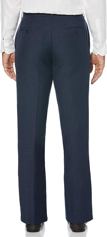 Cuba Vera Mens Big-Tall Big and Tall Easy Care Flat Front Pant