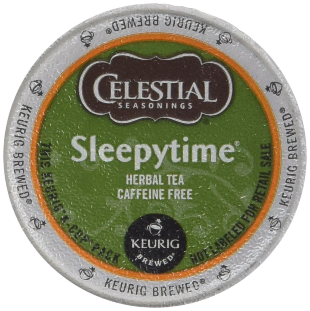 Celestial Seasonings Sleepytime Herbal Tea K Cup 48 Count Case for Keurig Brewers