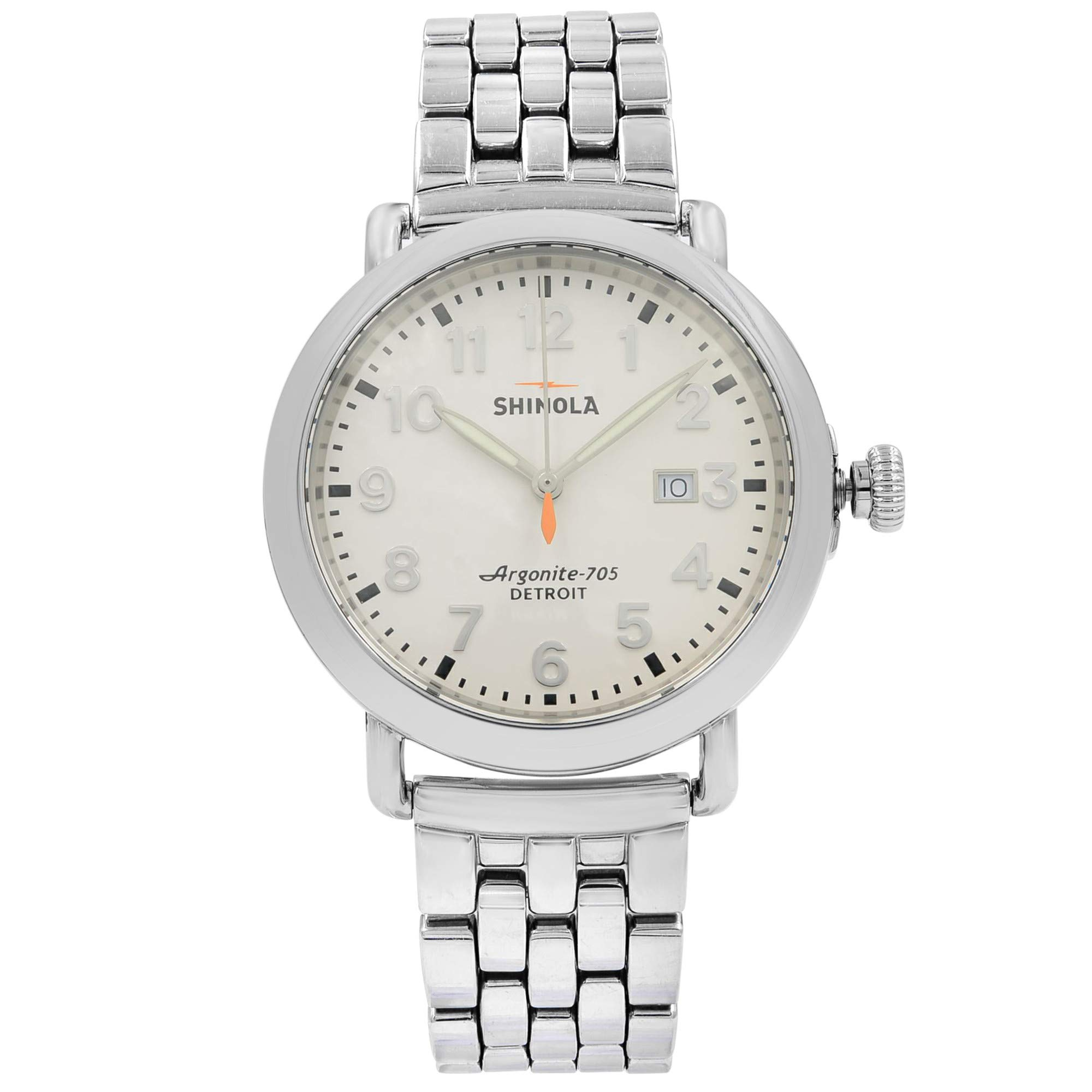 Shinola The Runwell Quartz Male Watch 10000054 (Certified Pre-Owned)