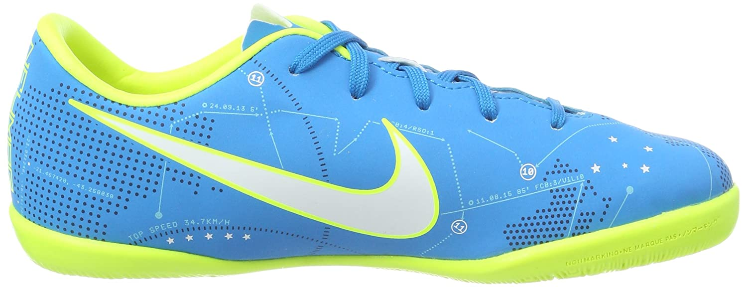 Amazon.com | Nike Youth MercurialX Victory VI Neymar Indoor Shoes [Blue Orbit] (13C) | Soccer