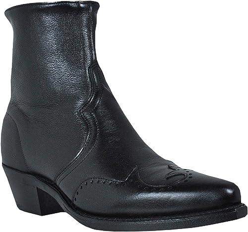 Zipper Boots Mens