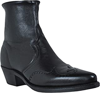 product image for Abilene Men's Western Wingtip Zipper Boot - 6445S