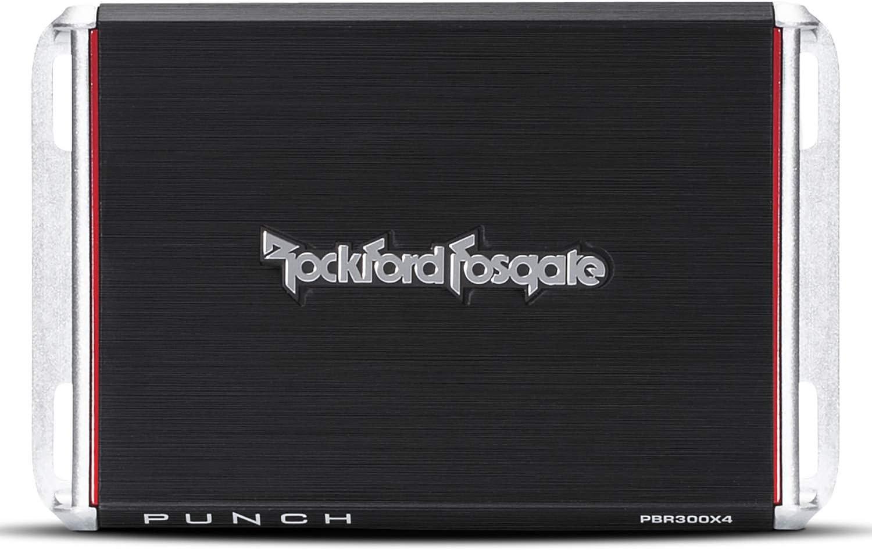 Rockford Fosgate Punch 300-Watt, 4-Channel Boosted Rail Amplifier