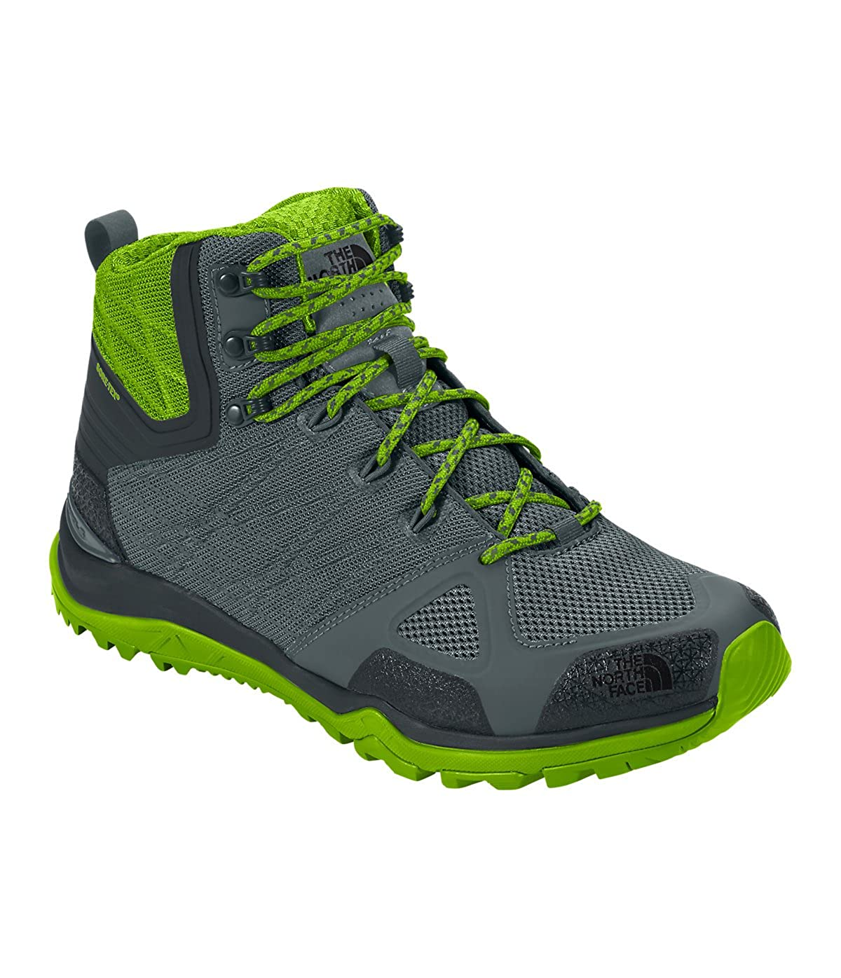 86e8ec9cf5128 THE NORTH FACE Men s M Ultra Fastpack II Mid GTX Hiking Shoes Green Size   6  Amazon.co.uk  Shoes   Bags