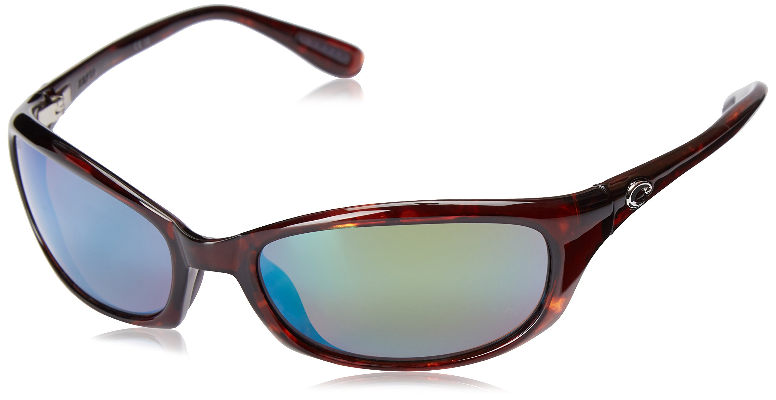 Costa del Mar Harpoon Polarized Iridium Oval Sunglasses, Tortoise, 61.5 mm
