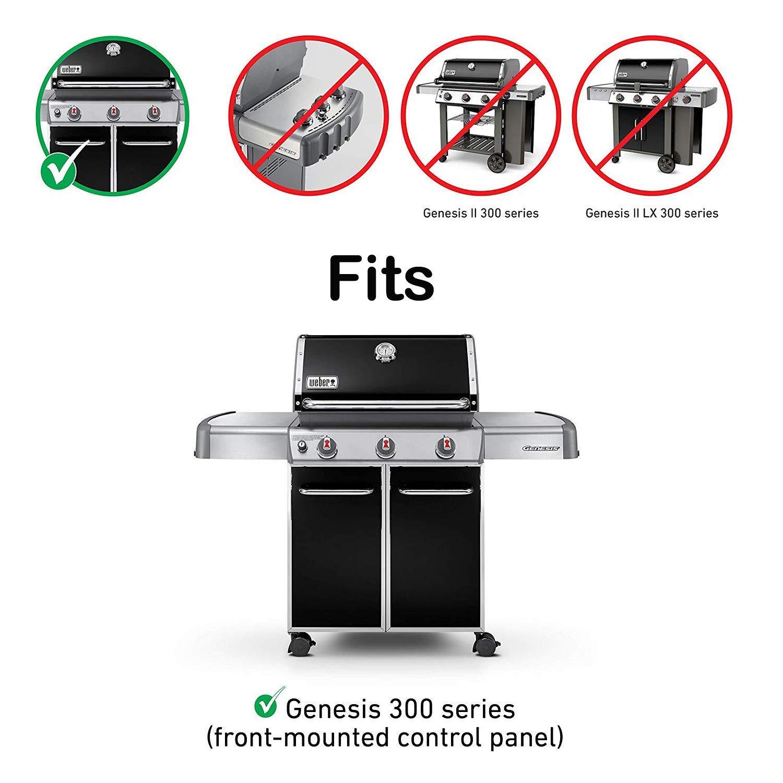 QuliMetal 7620, 16 Gauge, 17.5'' Stainless Steel Heat Shield for Weber Genesis Flavor Bars, Fit Genesis 300, E310, S310, E330, EP-330 by QuliMetal (Image #2)