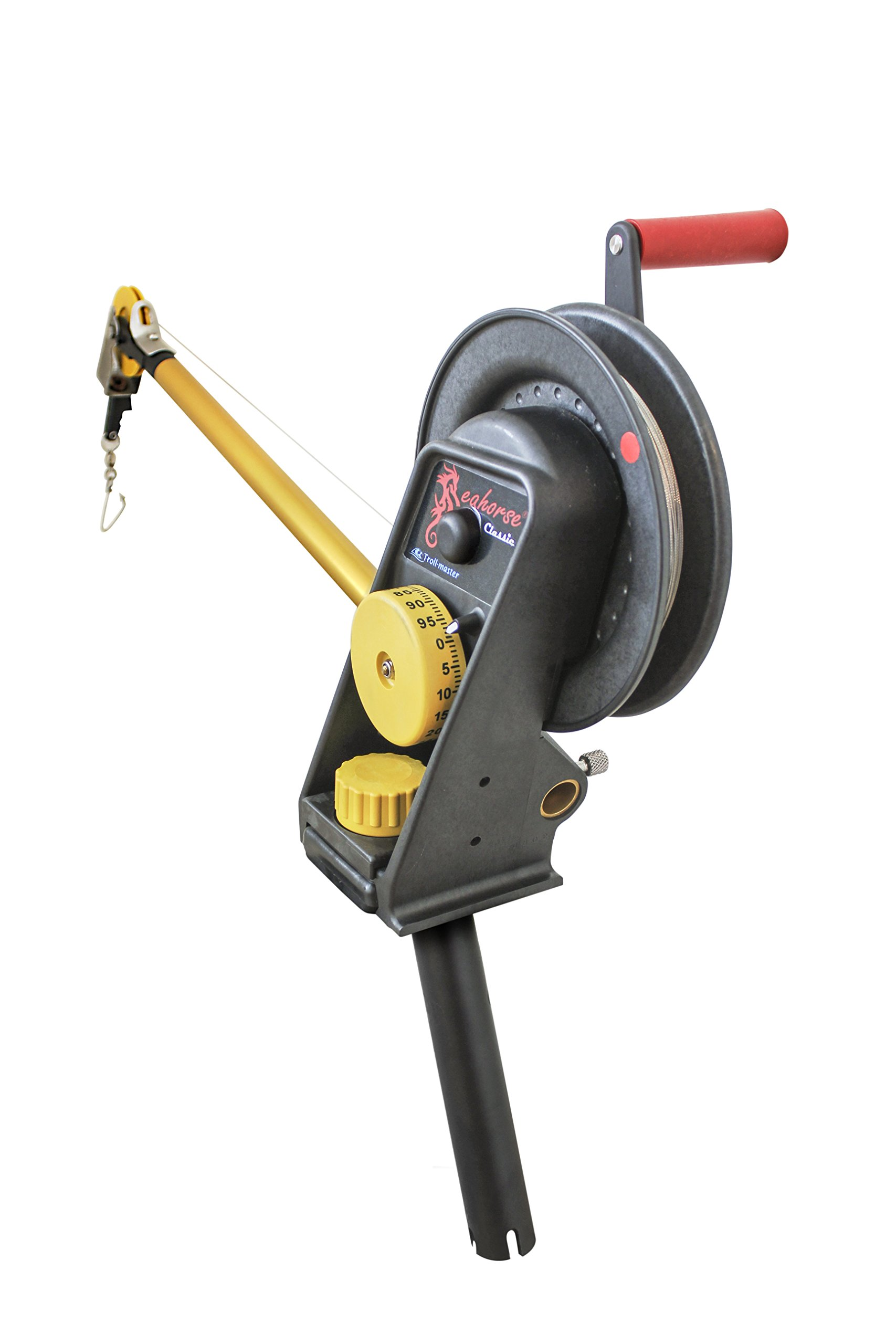 Seahorse Manual Downrigger with Gimbal Mount By Troll-master by Seahorse