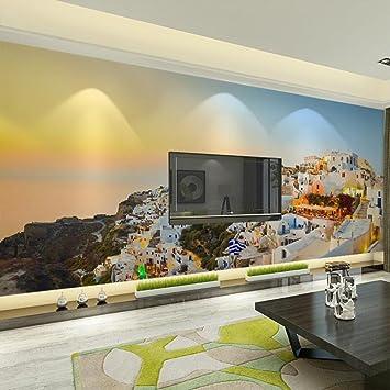 Lmopop Wohnkultur Tapeten 3D Mittelmeer Landschaft Fototapete Wand ...