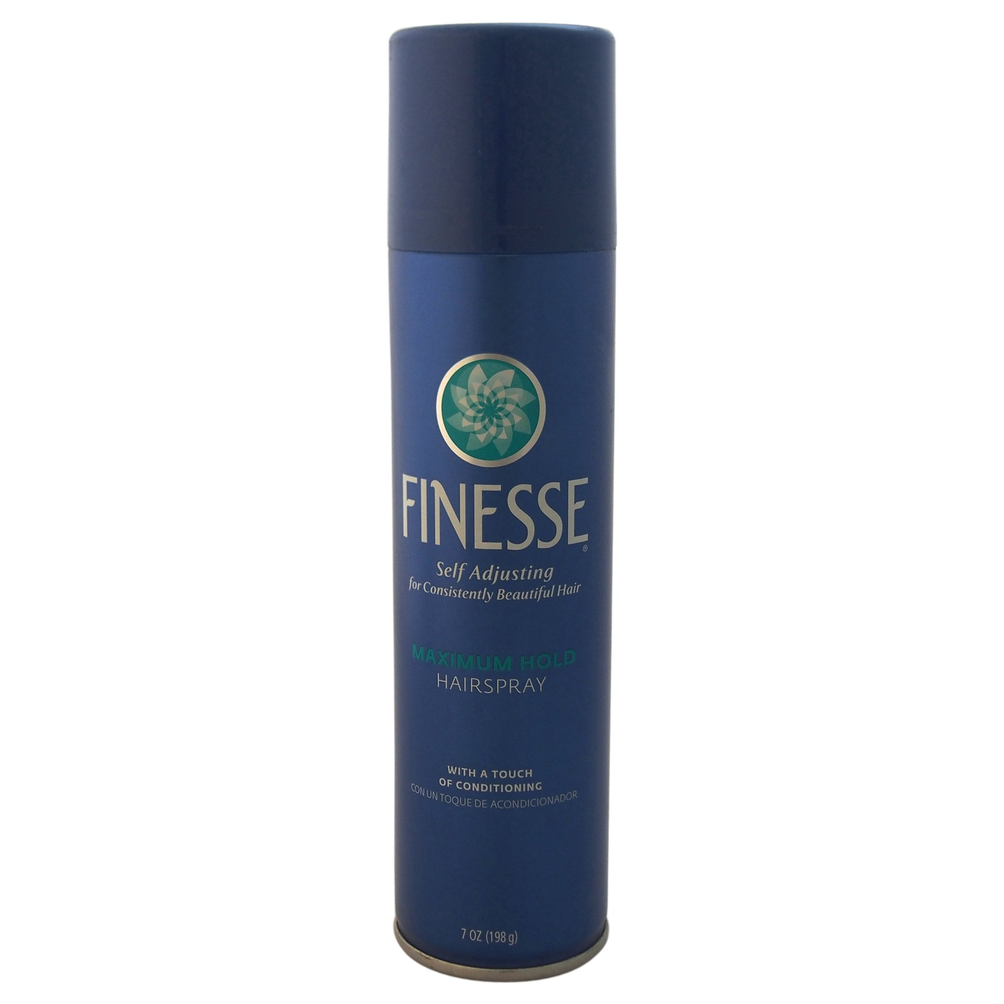 Self Adjusting Maximum Hold Hairspray by Finesse, 7 Ounce