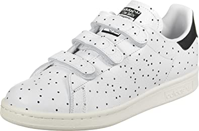 buy online 70a1a 3eb0b Adidas Women's Stan Smith Cf Sneaker Low Neck, White (Core ...